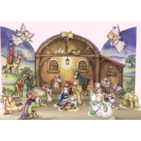 XADV01 Nativity Stable Advent Calendar