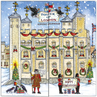 XADV04 Tower of London Advent Calendar