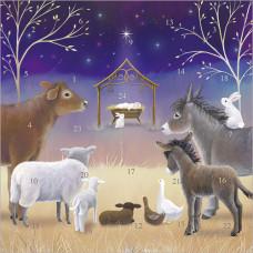 XADV07 Away in a Manger Advent Calendar