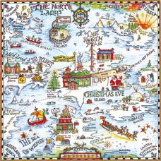 XADV07 Christmas Map Advent Calendar