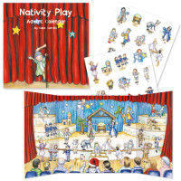 XADV16  Nativity Play Advent Calendar