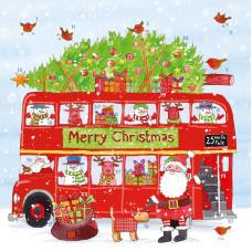 XADV19 Christmas Bus Advent Calendar