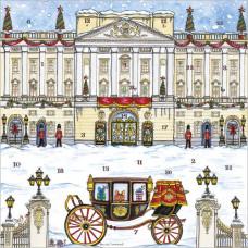 XAC06 Buckingham Palace Advent Card