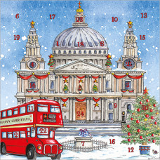 XAC10 St Paul's Cathedral Advent Card