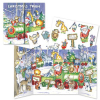 XADV11 Christmas Train Advent Calendar