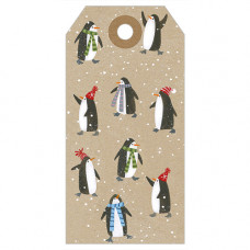 XGT012 Penguins Gift Tag