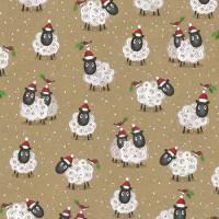 XGW007 Christmas Sheep Gift Wrap (1 sheet)