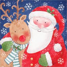 XL27 Santa and Rudolph (Pk 8)
