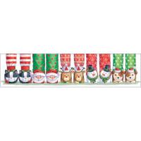 XP23 Christmas Slippers (Pk 8)