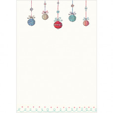 XC69 Baubles Notecards (Pk 10)