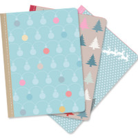 XM110 Set of 3 Mini Notebooks (Christmas)
