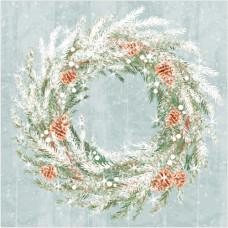 XS10 Christmas Wreath (Pk 8)