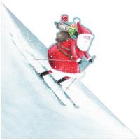 XS17 Skiing Santa (Pk 8)