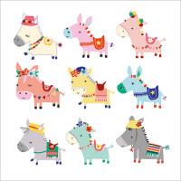 FP6151 Donkeys