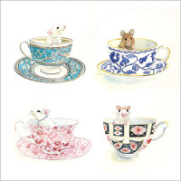 FP6209 Teacups and Little Mice