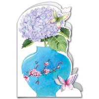 GM05 Hydrangea and Butterflies