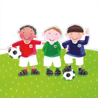 FP6136 Little Footballers