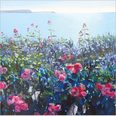 FP6225 Roses by the Sea