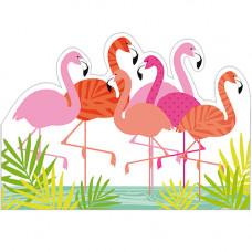 FP7009 Cool Flamingos!
