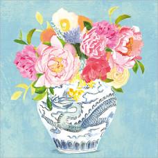 FP5121 Flowers in Chinese Vase