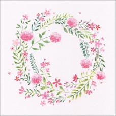 FP5160 Pink Flower Garland
