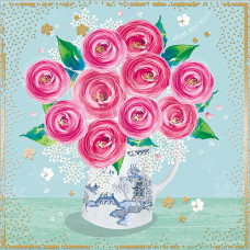 FP6117 Pink Ranunculus