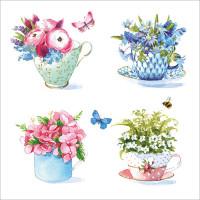 FP6155 Flowers in Teacups