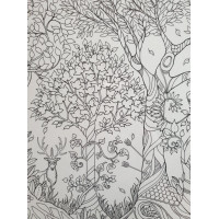 JB07 Enchanted Forest (Colour-in)