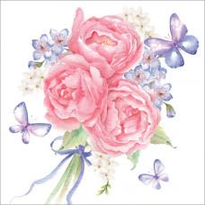 WS190 Bouquet and Butterflies