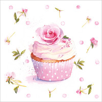 FP5115 Rose Cupcake