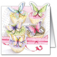 LS20 Butterfly Cupcakes