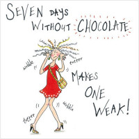 S267 Seven Days without Chocolate