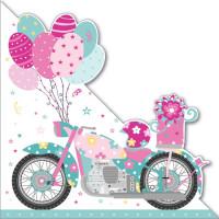 LS58 Pink Motorbike