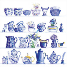WS445 Blue and White China
