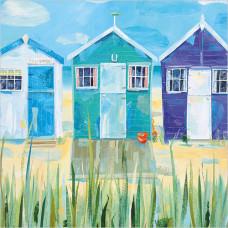 WS449 Blue Beach Huts