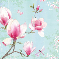 WS422 Magnolia Flowers
