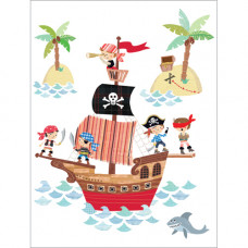 B005 Pirate Galleon Gift Card