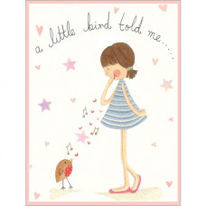 B027 A Little Bird Told Me Gift Card