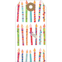 GT023 Candles Gift Tag