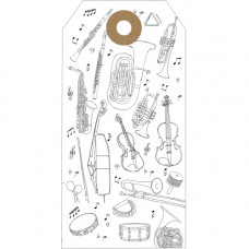 GT029 Musical Instruments Gift Tag