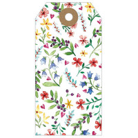 GT036 Floral Gift Tag