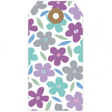 GT038 Flower Pattern Gift Tag