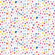 GW144 Little Hearts  Gift Wrap