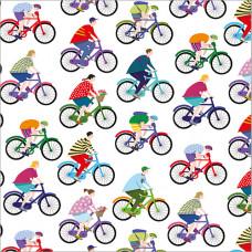 GW203 Cyclists Gift Wrap