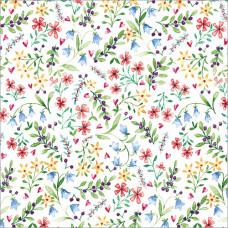 GW207 Floral Gift Wrap