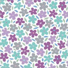 GW209 Flower Pattern Gift Wrap