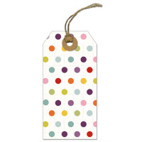 GT014 Dots Gift Tag