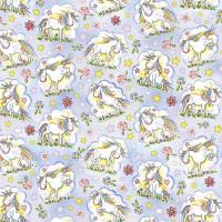 GW195 Unicorns Gift Wrap
