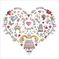 FP6185 Love Love Love (Wedding)