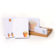 GP05 Little Puppies Jotters & Sticky Notes Pack